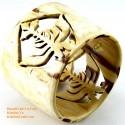 Природный рог браслет - Модель 0079