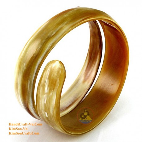Natural horn bracelet - Model 0080