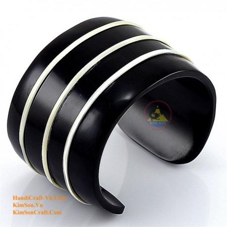 Природный рог браслет - Модель 0081