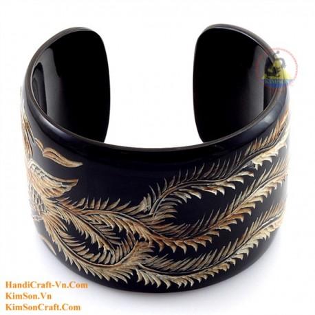 Natural horn bracelet - Model 0082