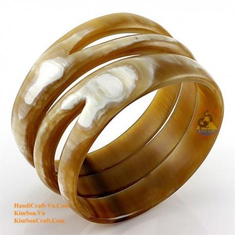 Природный рог браслет - Модель 0083