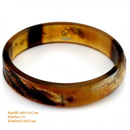 Natural horn bracelet - Model 0084