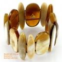 Природный рог браслет - Модель 0086