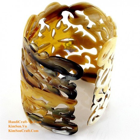 Природный рог браслет - Модель 0087