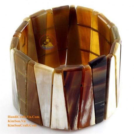 Natural horn bracelet - Model 0088