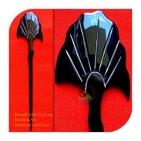 Fan Organic Horn Hair Stick