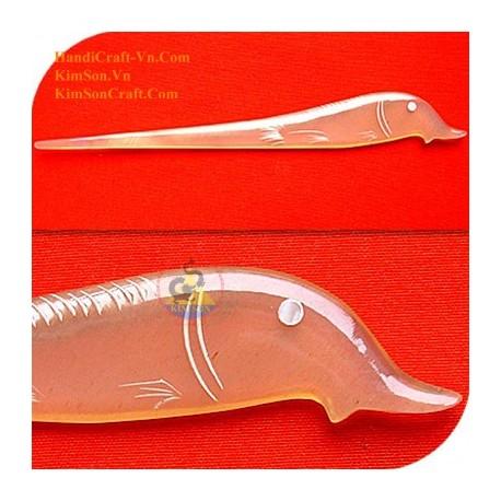Рыба Органические Хорн волос Придерживайтесь