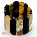 Природный рог браслет - Модель 0089