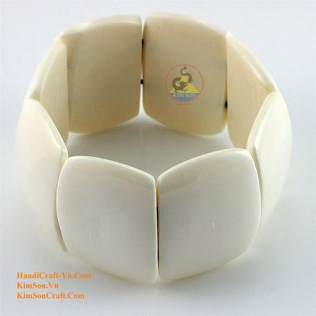 Природный рог браслет - Модель 0090