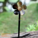 Blume Bio Horn Haar Stick