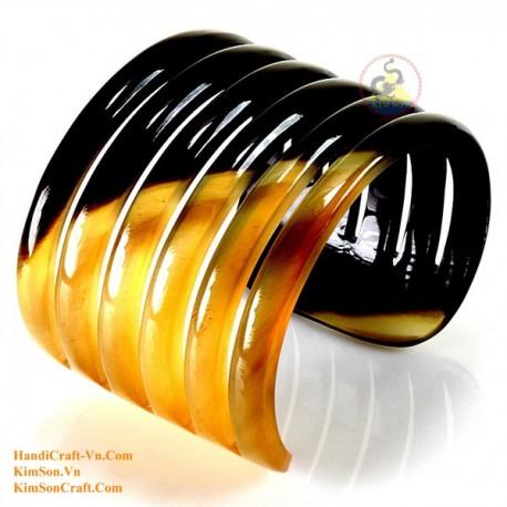 Природный рог браслет - Модель 0094
