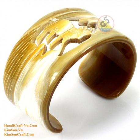 Природный рог браслет - Модель 0095