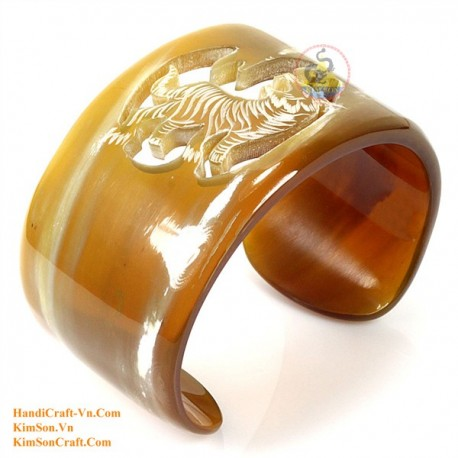 Natural horn bracelet - Model 0096