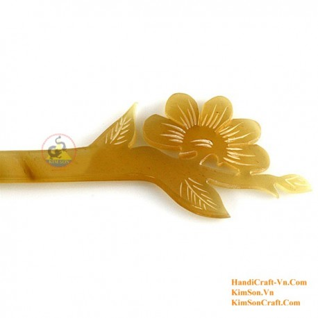 BamBoo Organic Horn & Bone Hair Stick