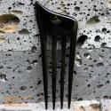 Четыре ручки Органические Хорн волос Придерживайтесь