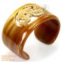 Природный рог браслет - Модель 0097