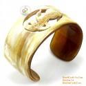 Природный рог браслет - Модель 0098