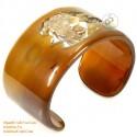 Natural horn bracelet - Model 0099