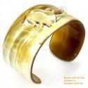 Природный рог браслет - Модель 0100