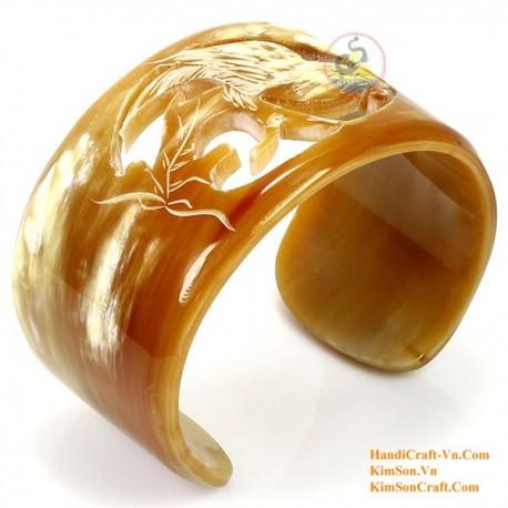Природный рог браслет - Модель 0101
