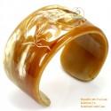 Natural horn bracelet - Model 0101