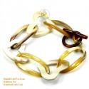 Природный рог браслет - Модель 0102