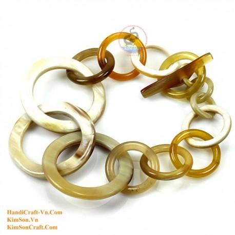 Natural horn bracelet - Model 0103