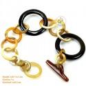 Natural horn bracelet - Model 0104