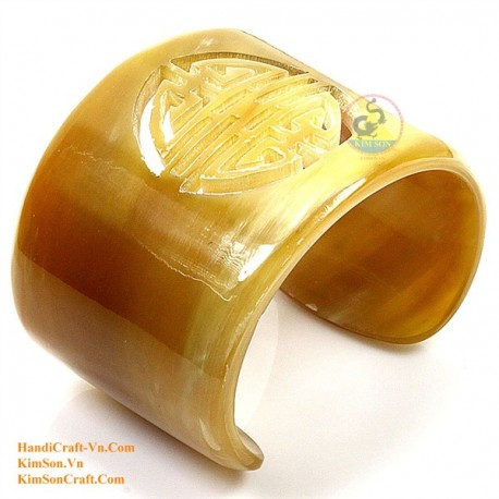 Natural horn bracelet - Model 0106