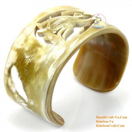 Natural horn bracelet - Model 0108
