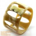Природный рог браслет - Модель 0109