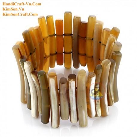 Natural horn bracelet - Model 0110