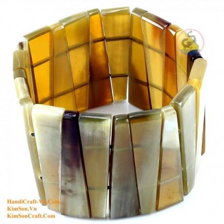 Природный рог браслет - Модель 0111