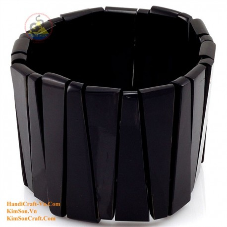 Natural horn bracelet - Model 0112