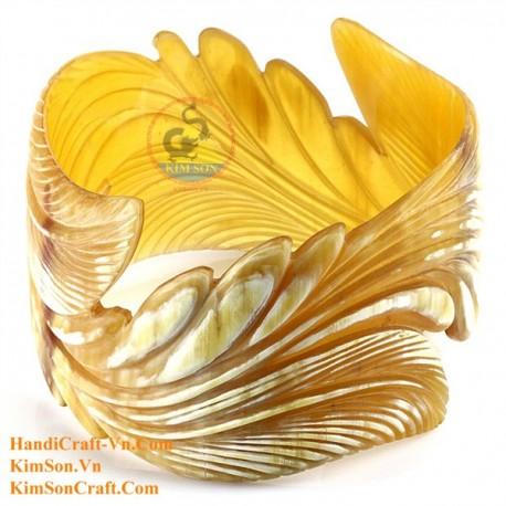 Natural horn bracelet - Model 0113