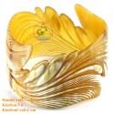 Природный рог браслет - Модель 0113