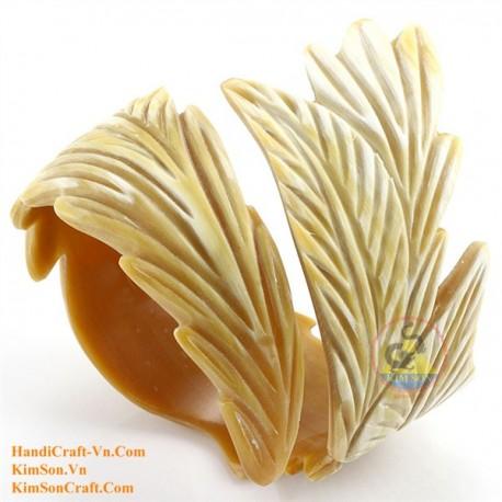 Natural horn bracelet - Model 0115