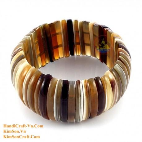 Natural horn bracelet - Model 0118