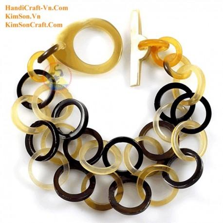 Natural horn bracelet - Model 0121