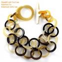 Природный рог браслет - Модель 0121