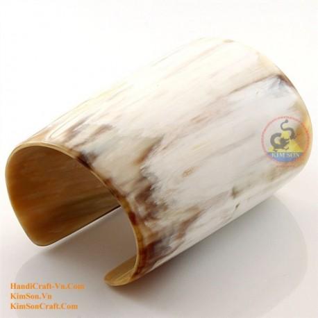 Natural horn bracelet - Model 0122