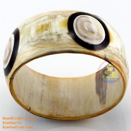 Природный рог браслет - Модель 0125