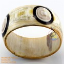 Natural horn bracelet - Model 0125