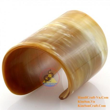 Природный рог браслет - Модель 0126