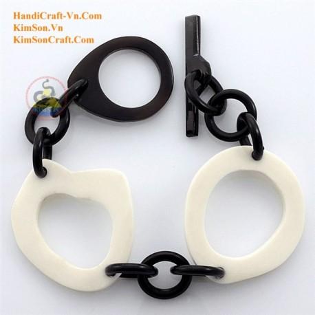Natural horn bracelet - Model 0127