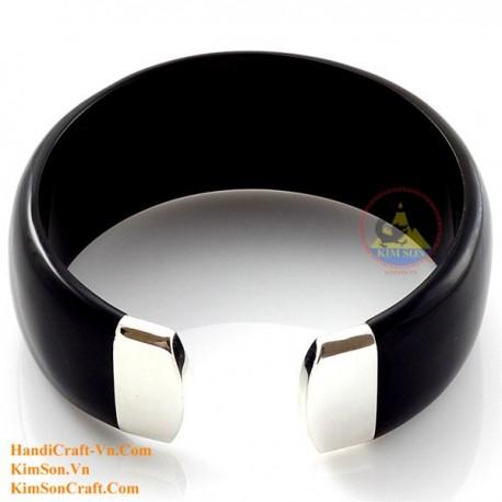 Природный рог браслет - Модель 0131
