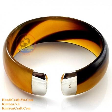 Natural horn bracelet - Model 0132