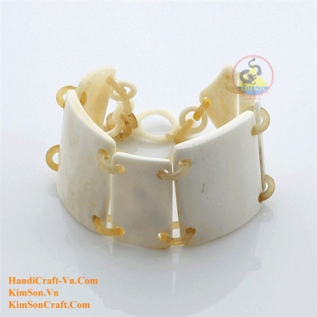 Natural horn bracelet - Model 0133