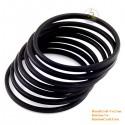 Natural horn bracelet set of 7 - Model 0137