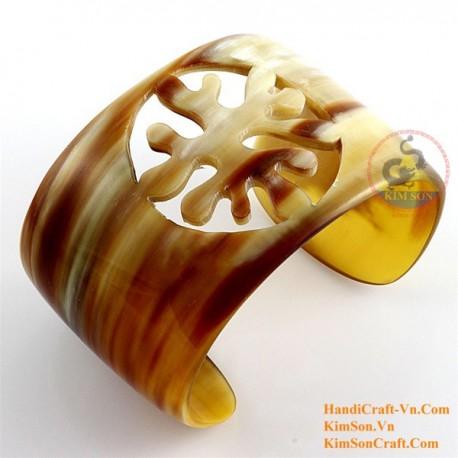 Натуральное дерево браслет - Модель 0141